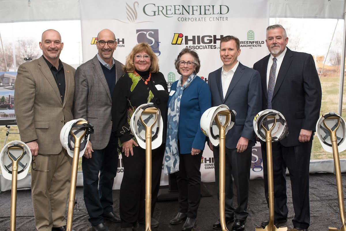 CSG Breaks Ground at New Greenfield Corporate Center
